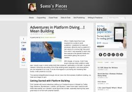 Article about platform building