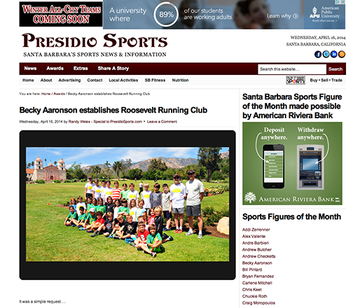 Presidio Sports Sports Figure of the Month