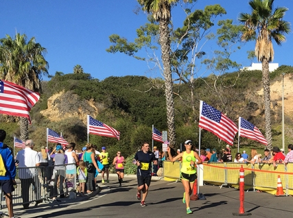 Becky Aaronson 2014 SB Half Marathon