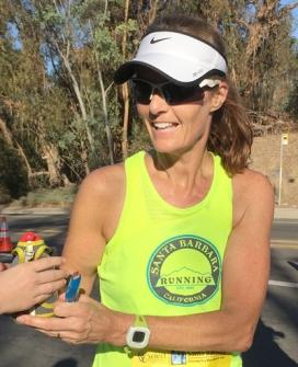 Becky Aaronson Santa Barbara Half Marathon