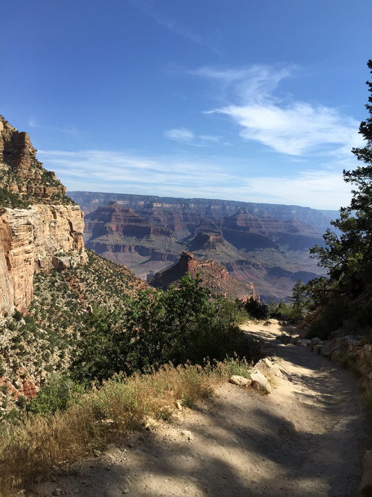 Photo of Bright Angel Trail in the Grand Canyon