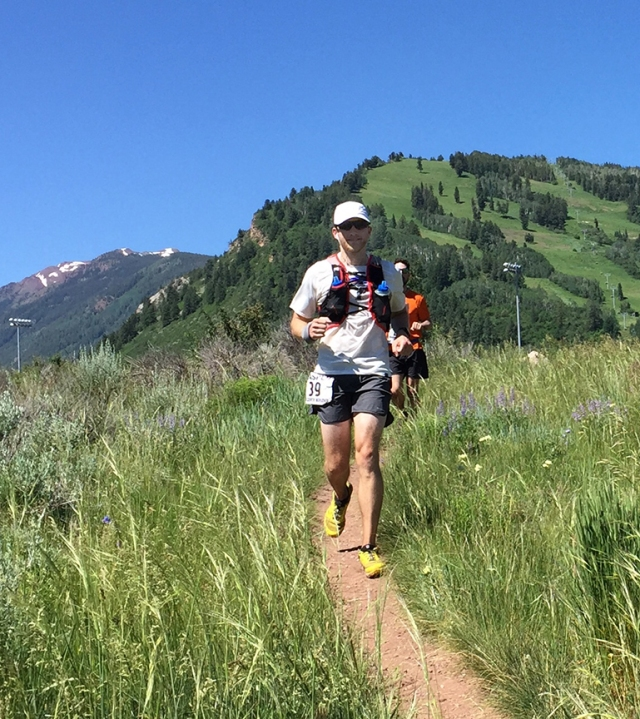 Photo of runners during the Aspen Backcountry Marathon